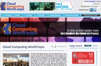 6ème édition du Cloud Computing World Expo les 1 & 2 avril 2015