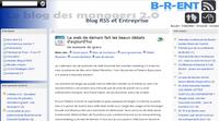 David Sapiro sur B-R-ent, le blog des managers 2.0