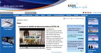 Pilot Systems migre le site web d'Astrium
