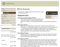 Pilot Systems assure la migration et l'hébergement de Plone.net