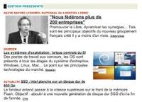 Interview de David Sapiro, vice-président du CNLL, sur le Journal du Net