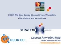 Lancement de PloneGov en Italie en septembre 2008