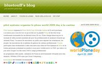 Le World Plone Day 2009 sur le Bluetouff's blog