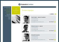Nouveau site Plone pour Financière Cambon