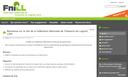 Ouverture du site Plone de la FNILL