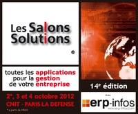 Pilot Systems participe au Salon Solutions 2012 du 2 au 4 octobre