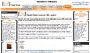 Plone récompensé aux Packt OS CMS Awards comme l'un des 3 meilleurs sytèmes gestion de contenu open source 2006 avec Drupal et Joomla.
