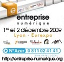 Salon Entreprise Numérique à Lyon les 1 et 2 décembre 2009