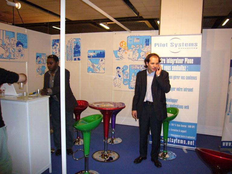 Denis Roux, commissaire général du salon Online