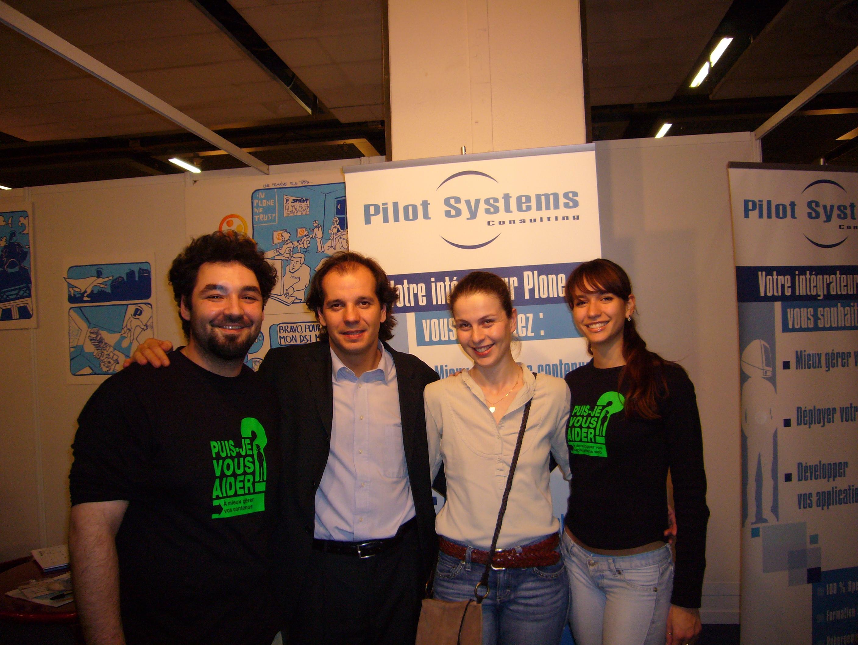 Séverine, Denis et l'équipe Pilot Systems part II