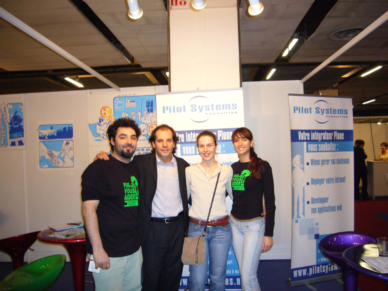 Séverine, Denis et l'équipe Pilot Systems part I