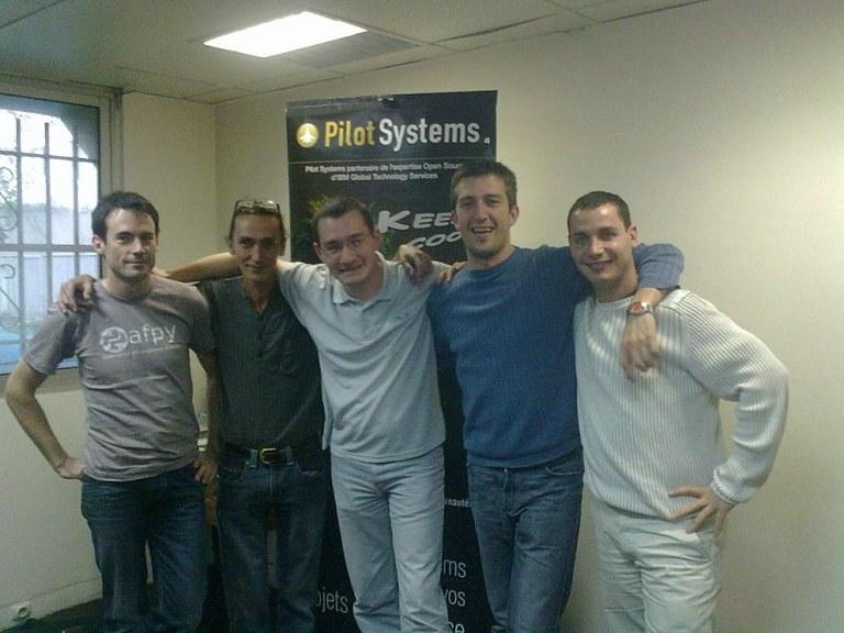Sprint de traduction Plone chez Pilot Systems