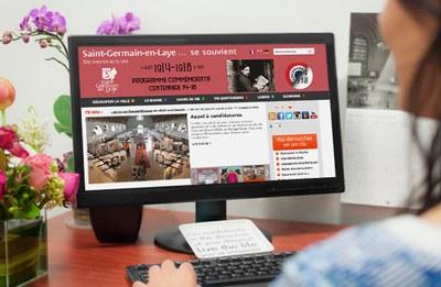 Archivage et consultation des payes pour la Mairie de Saint-Germain-en-Laye