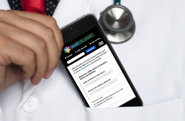 Développement d'une base de contacts collaborative pour améliorer la qualité des soins