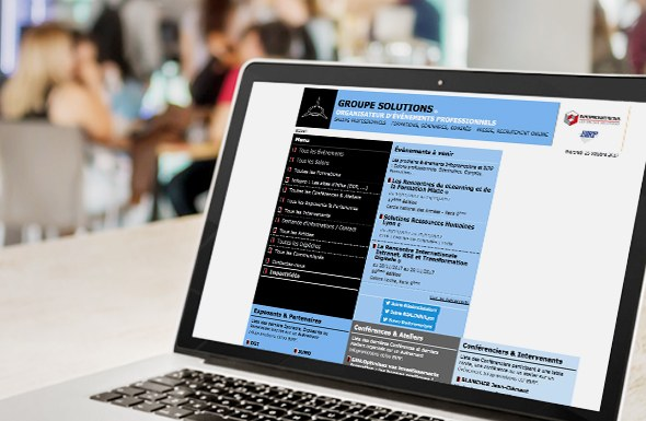 Infopromotions connecte ses salons à travers son site