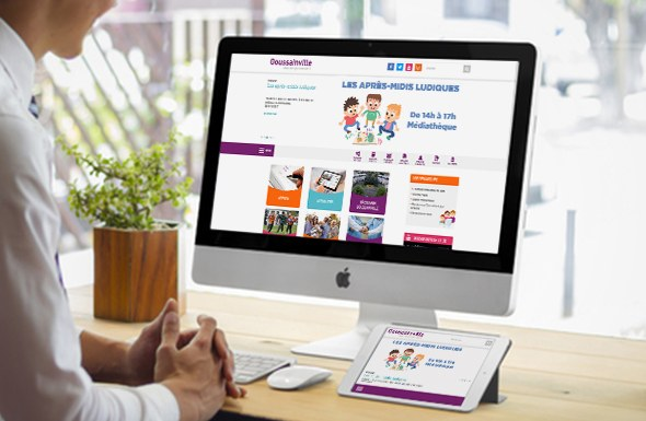 Site web Plone pour la Mairie de Goussainville